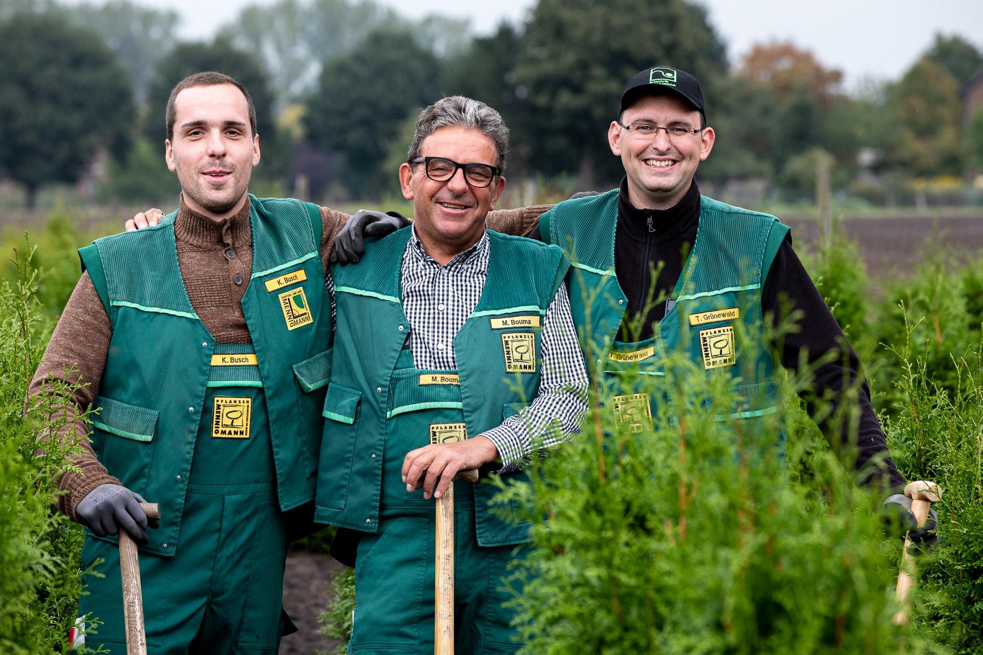 Mennigmann Garten- und Landschaftsbau GmbH Team Gartencenter