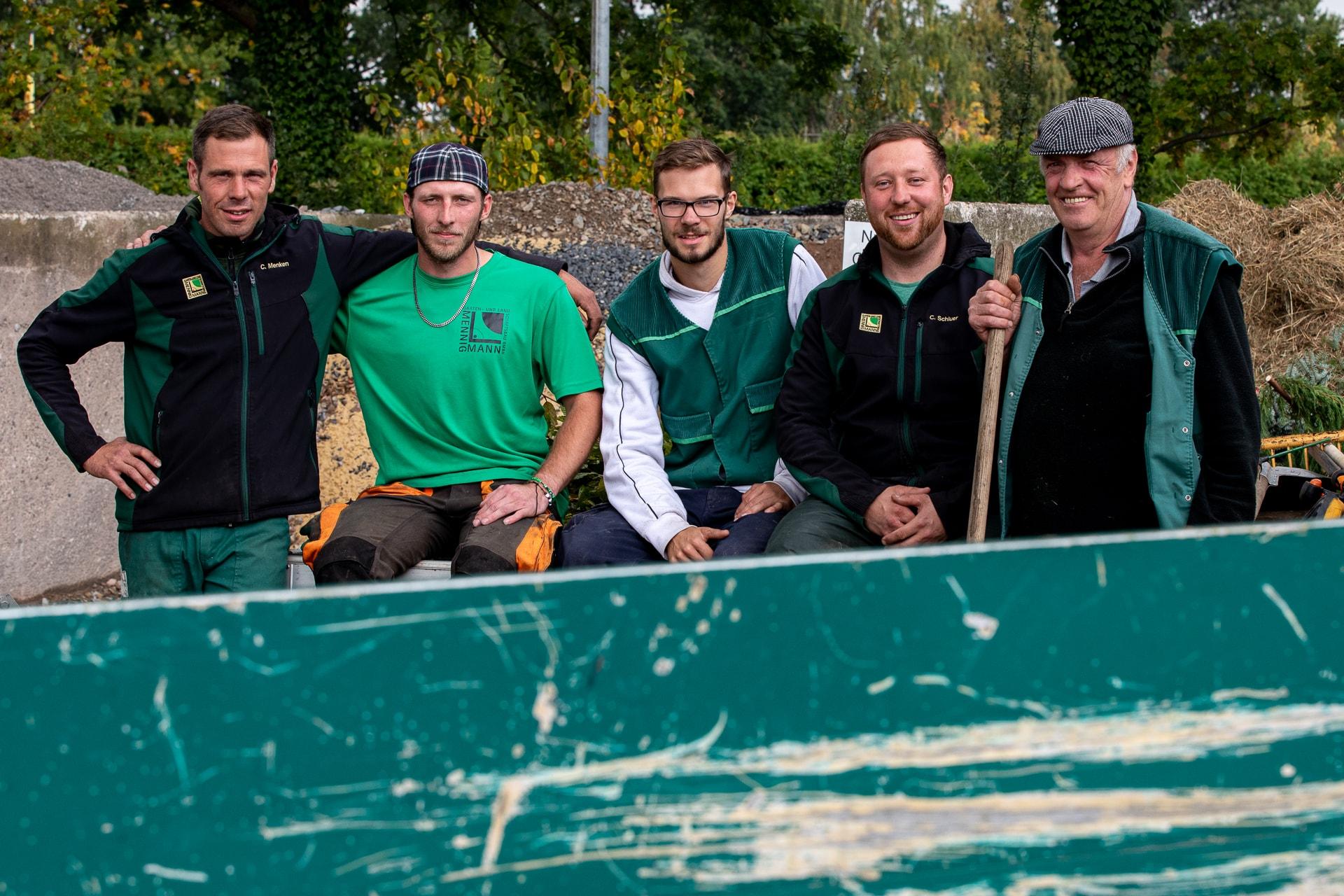 Mennigmann Garten- und Landschaftsbau GmbH Team