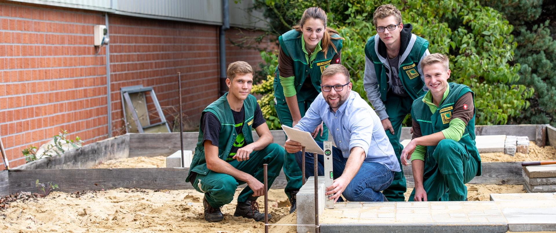 Mennigmann Garten- und Landschaftsbau GmbH Team Ausbildung