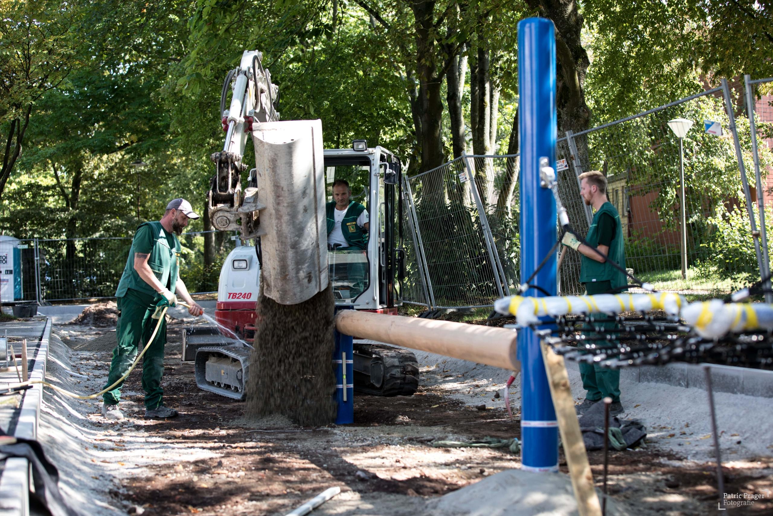 Mennigmann Garten- und Landschaftsbau GmbH Team Spielplatzbau